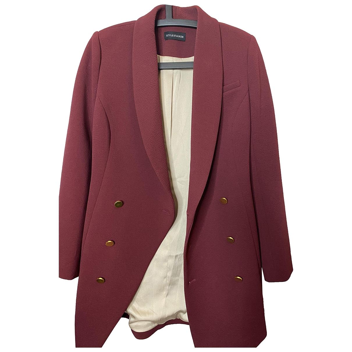 Style Stalker \N Jacke in  Rot Polyester