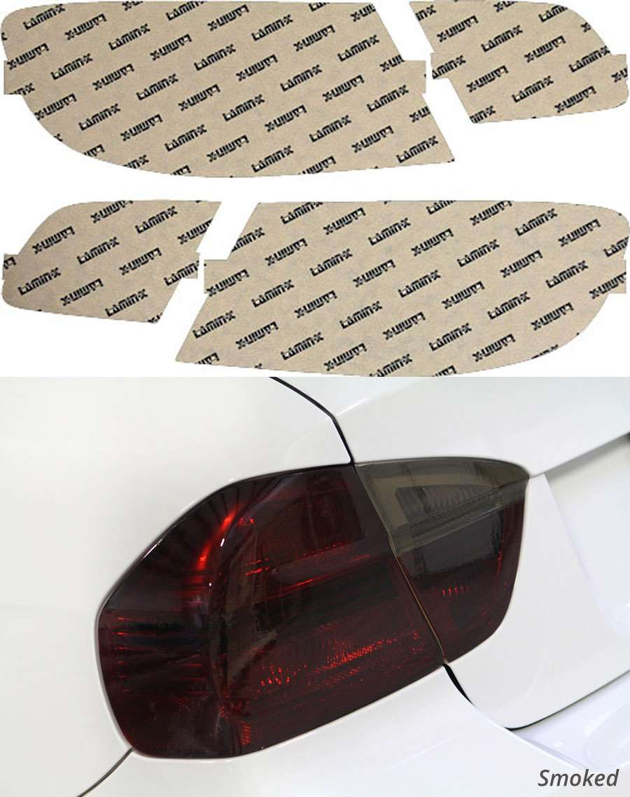BMW M3 Coupe 08-13 Smoked Tail Light Covers Lamin-X B224S