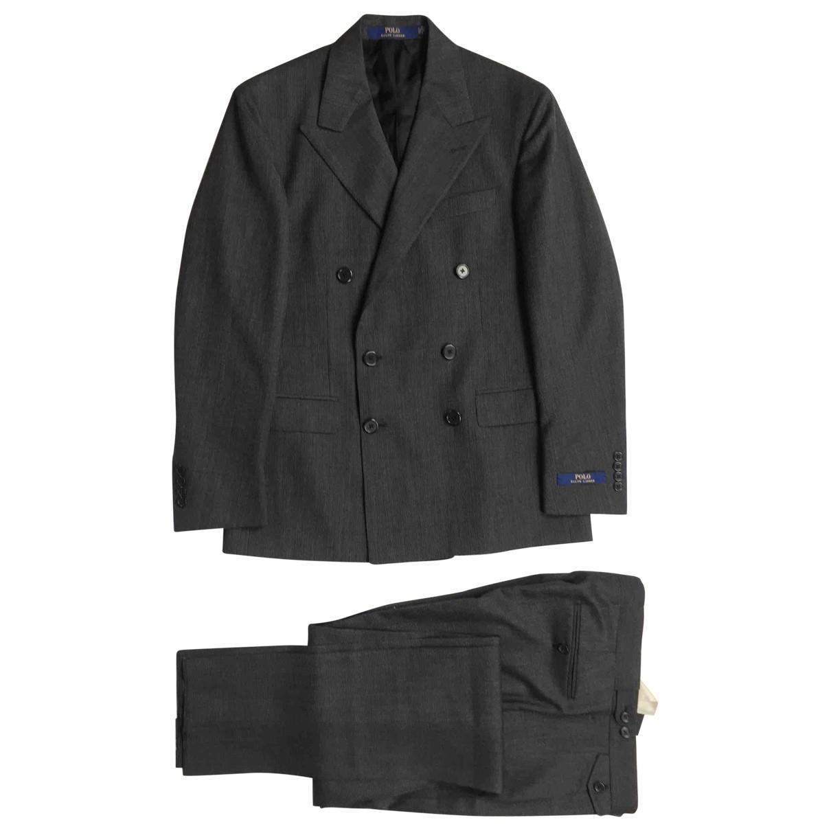 Polo Ralph Lauren - Costumes   pour homme en laine - gris