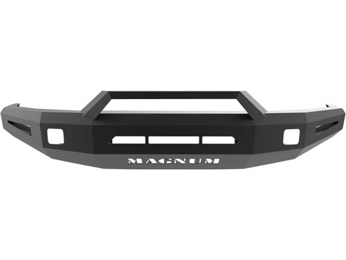 Tundra Front Bumper Non Winch 14-18 Toyota Tundra Single 3.5inch Square Light Holes Magnum RT Series ICI Innovative Creations FBM25TYN-RT