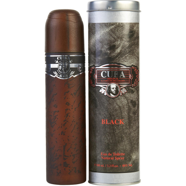 Fragluxe - Cuba Black : Eau de Toilette Spray 3.4 Oz / 100 ml