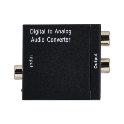 Câble coaxial et optique numérique toslink vers convertisseur audio stéréo R / L - PrimeCables®