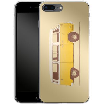 Apple iPhone 8 Plus Silikon Handyhuelle - Yellow Van von Florent Bodart
