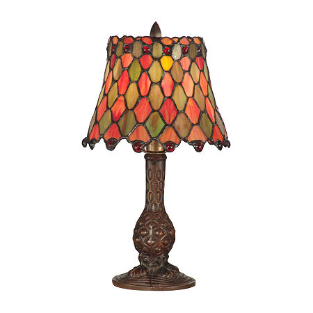 Dale Tiffany Tiffany Manti Accent Table Lamp, One Size , Multiple Colors