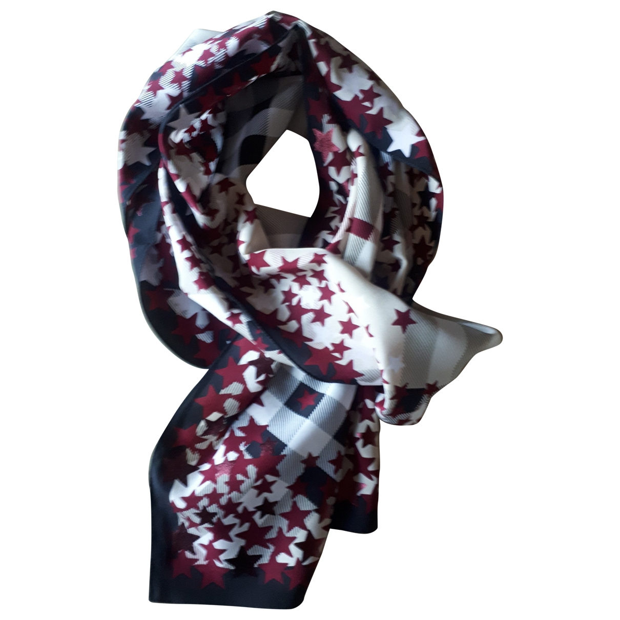Burberry \N Multicolour Silk scarf & pocket squares for Men \N