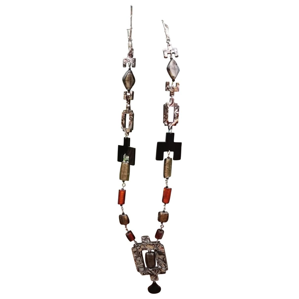 Jean Paul Gaultier - Collier   pour femme en metal - marron