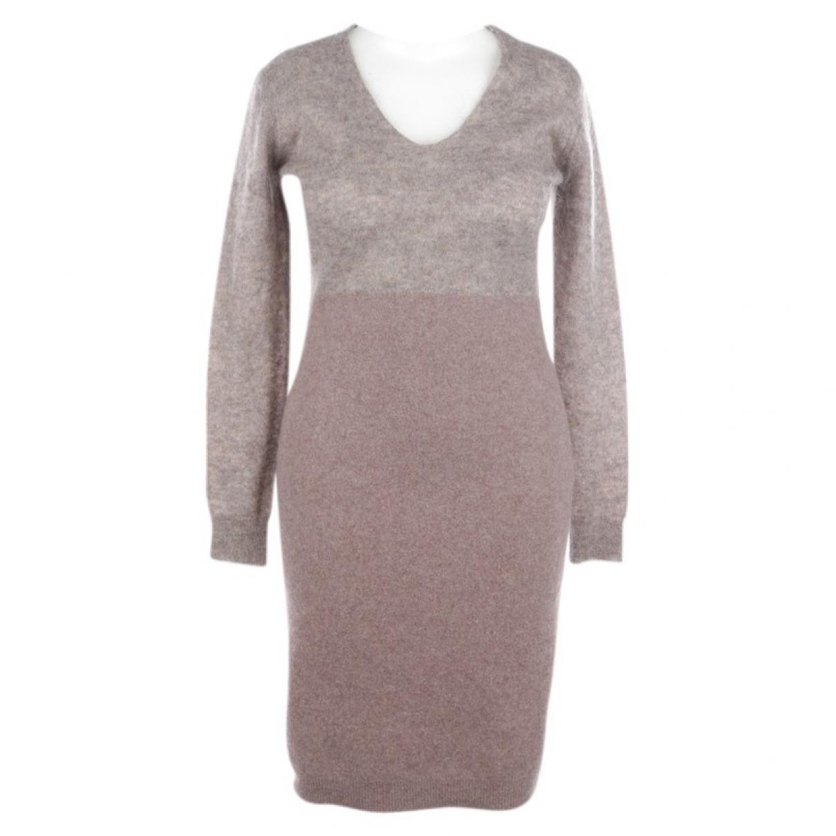 Maison Martin Margiela \N Beige Wool dress for Women XL International