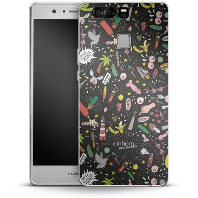 Huawei P9 Silikon Handyhuelle - Penisgegenstaende - by einhorn von Einhorn