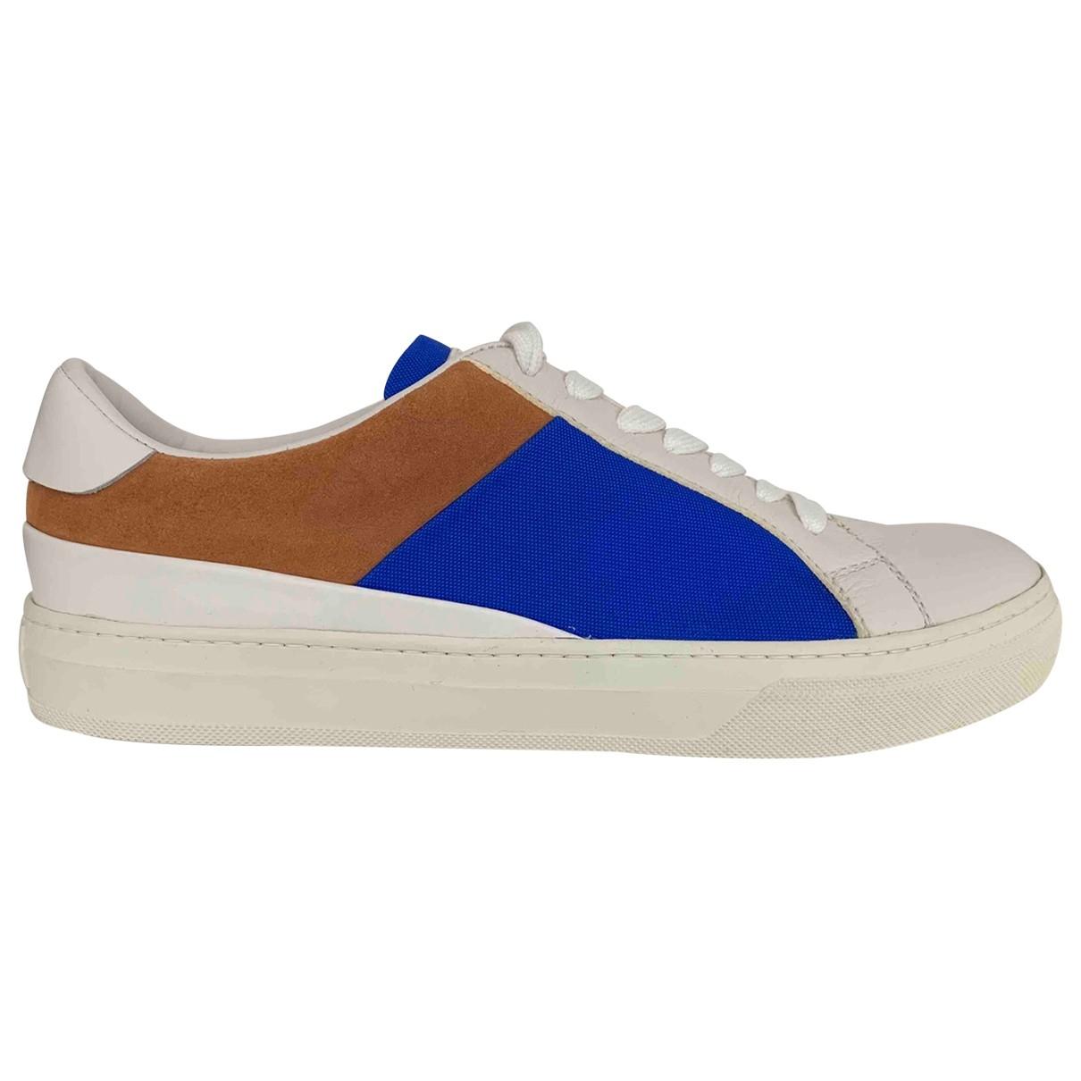 Tods \N Sneakers in  Weiss Leder