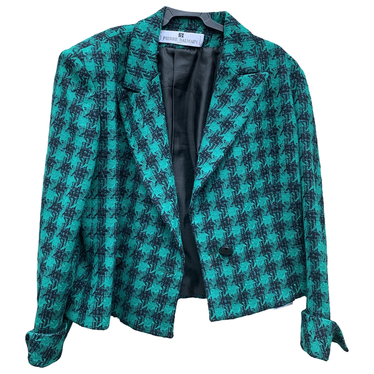 Pierre Balmain \N Turquoise Wool jacket for Women 42 FR