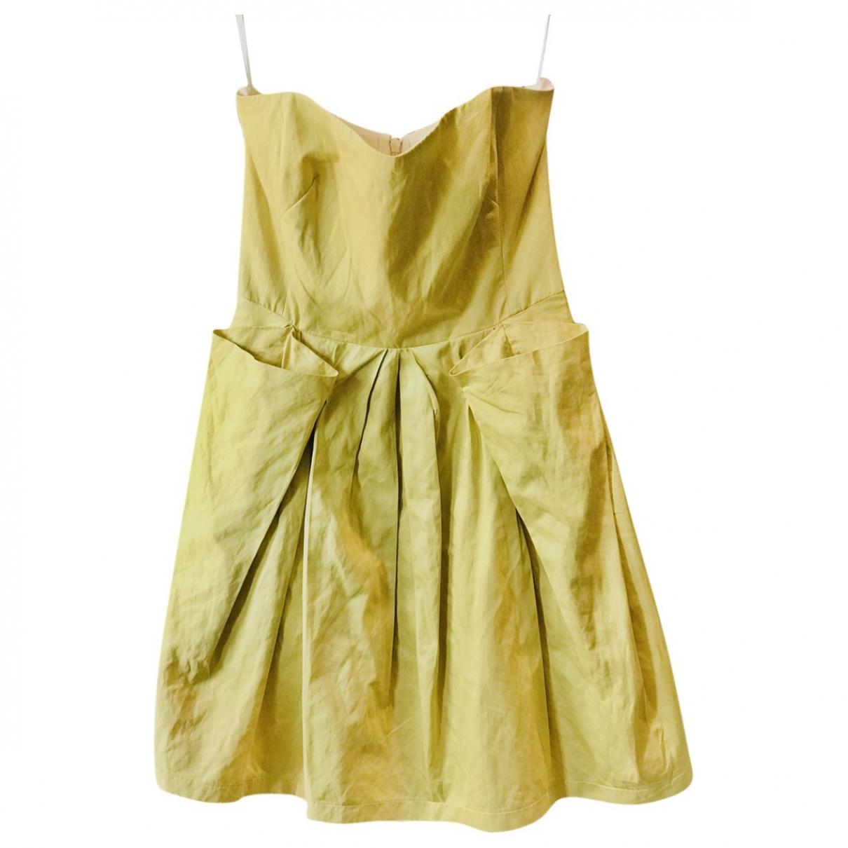 See By Chloe - Robe   pour femme en coton - jaune