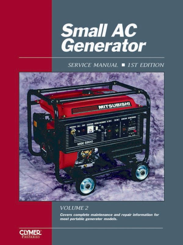 Proseries Small AC Generator (1990-1999) Service Repair Manual Vol. 2