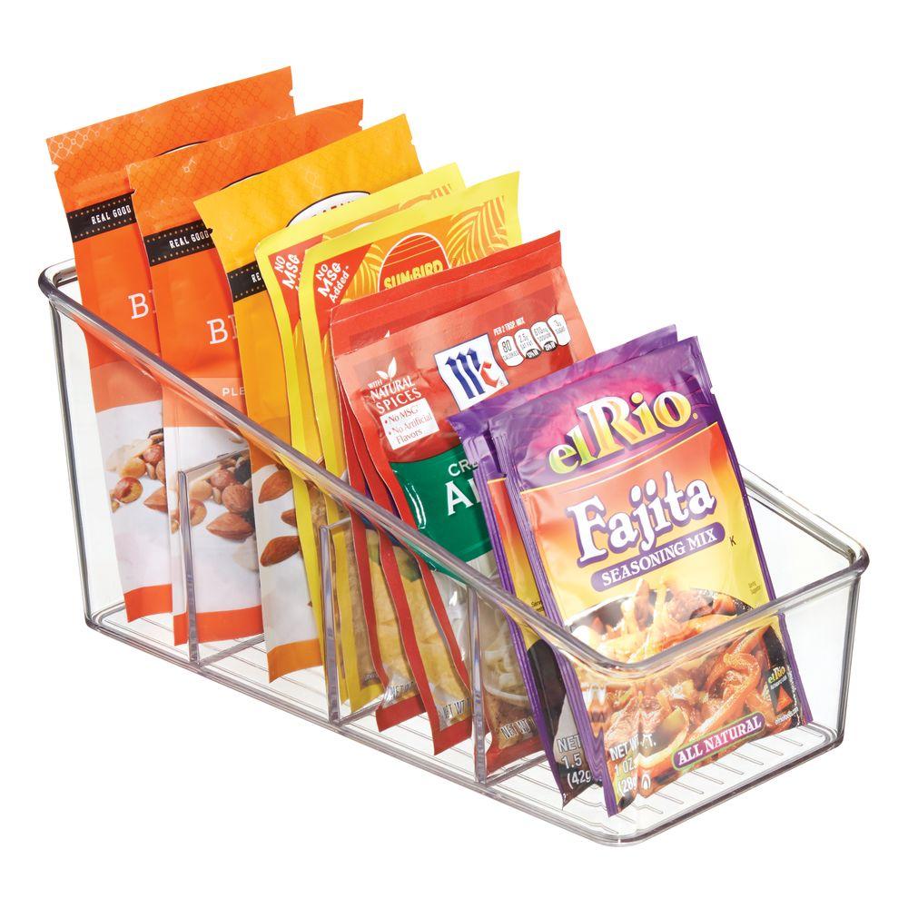Plastic Kitchen Food Packet / Condiment Organizer - 10.6