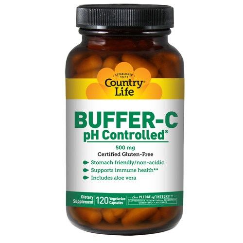 Buffer-C pH Controlled 120 Caps by Country Life