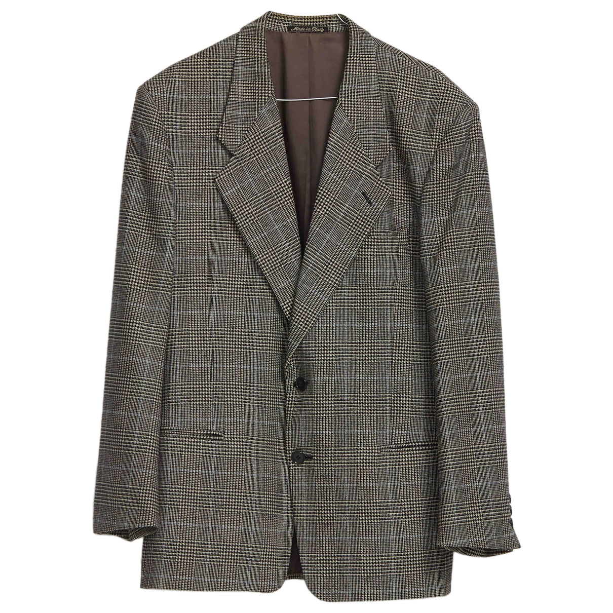 Armani Collezioni \N Multicolour Wool jacket  for Men 44 IT