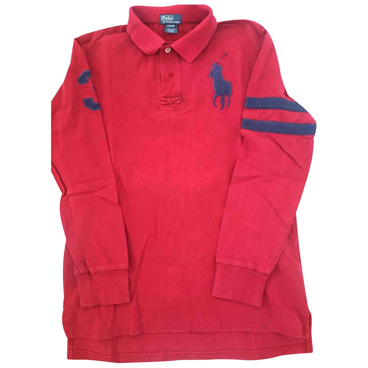 Polo Ralph Lauren \N Oberteile in  Rot Baumwolle