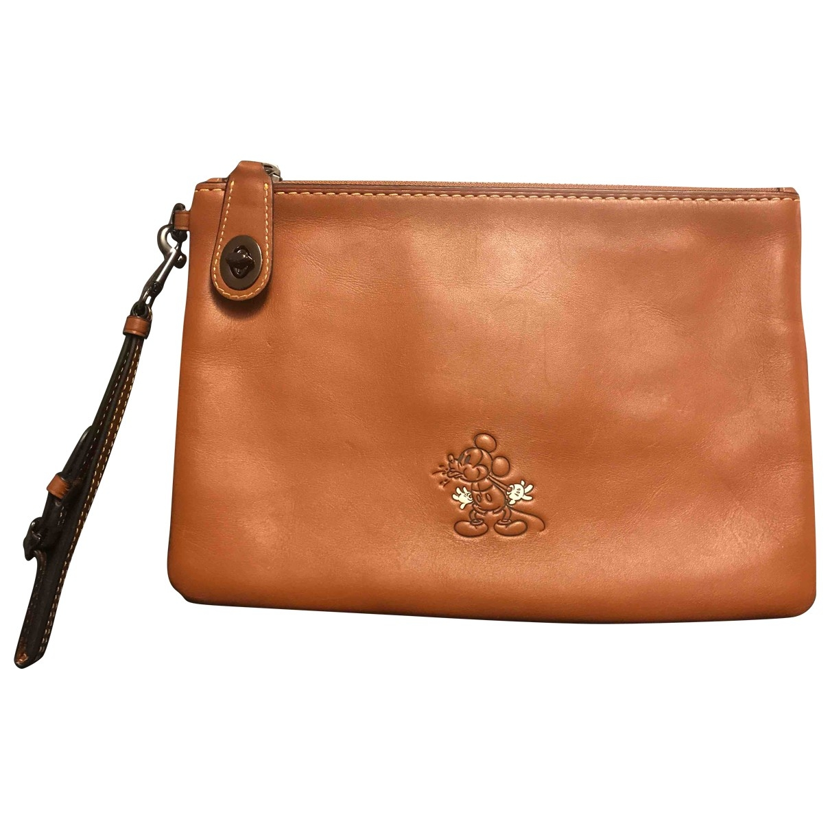 Coach  Disney collection Camel Leather Purses, wallet & cases for Women \N