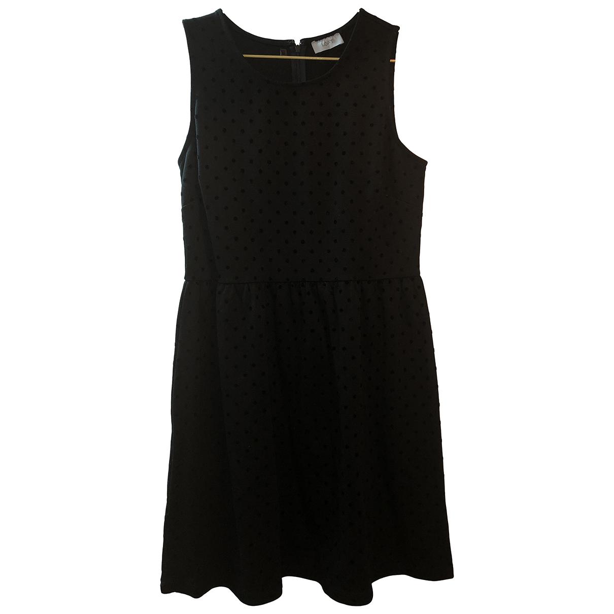 Ann Taylor \N Kleid in  Schwarz Viskose