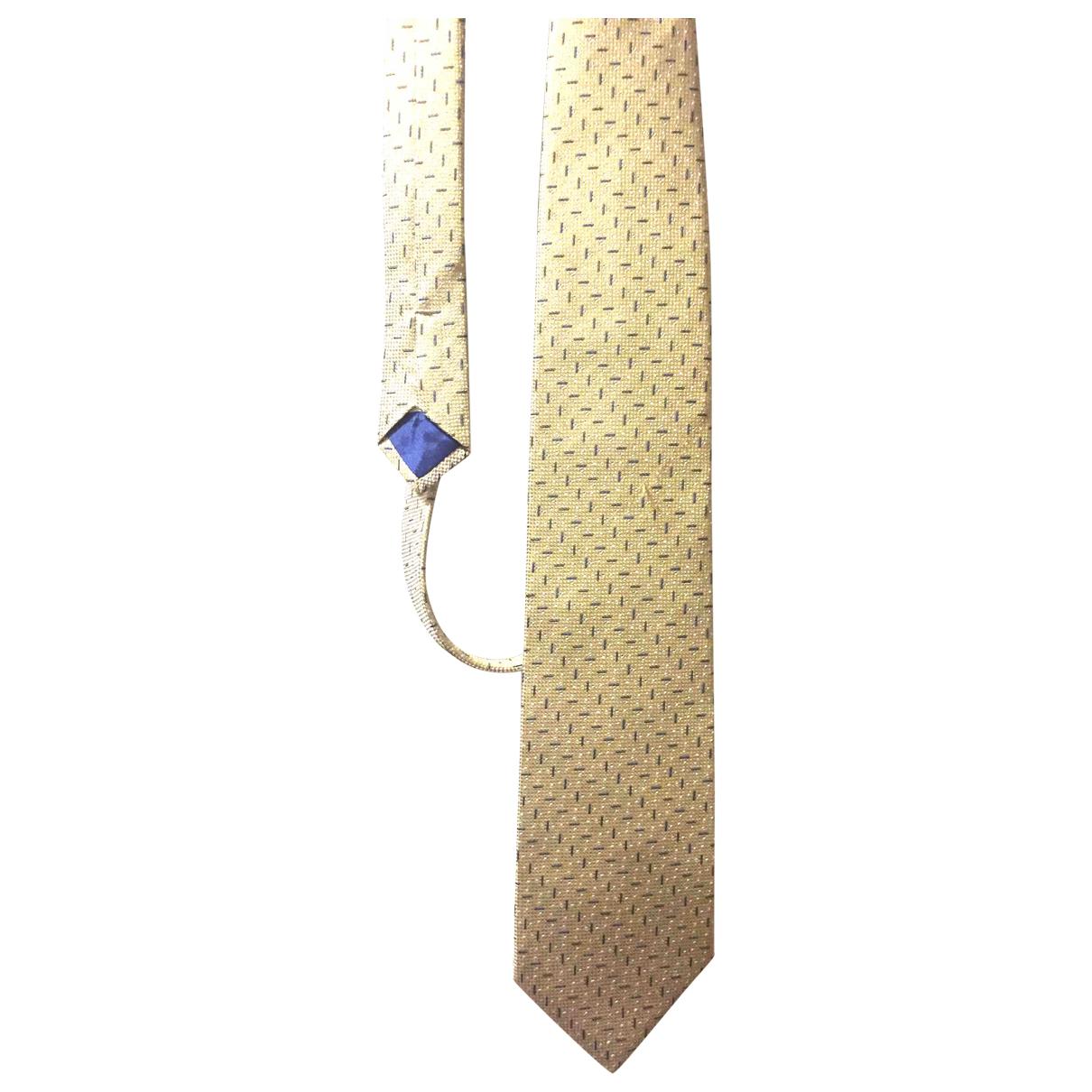 Courreges \N Krawatten in  Gold Seide
