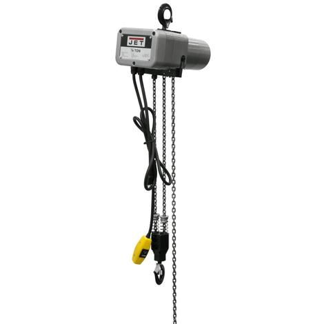 Jet 1/4-Ton Electric Chain Hoist 1-Phase 15' Lift