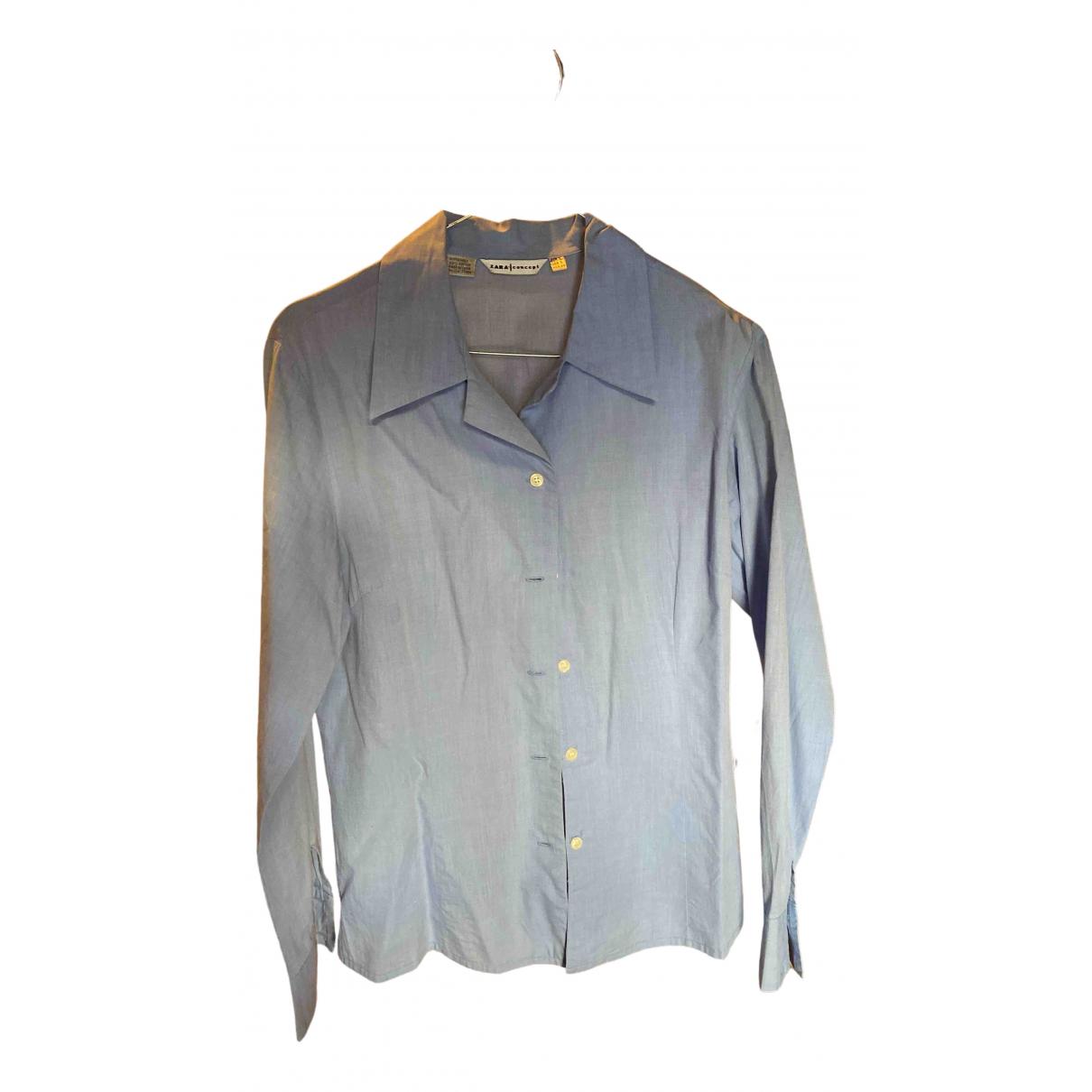 Zara - Top   pour femme en coton