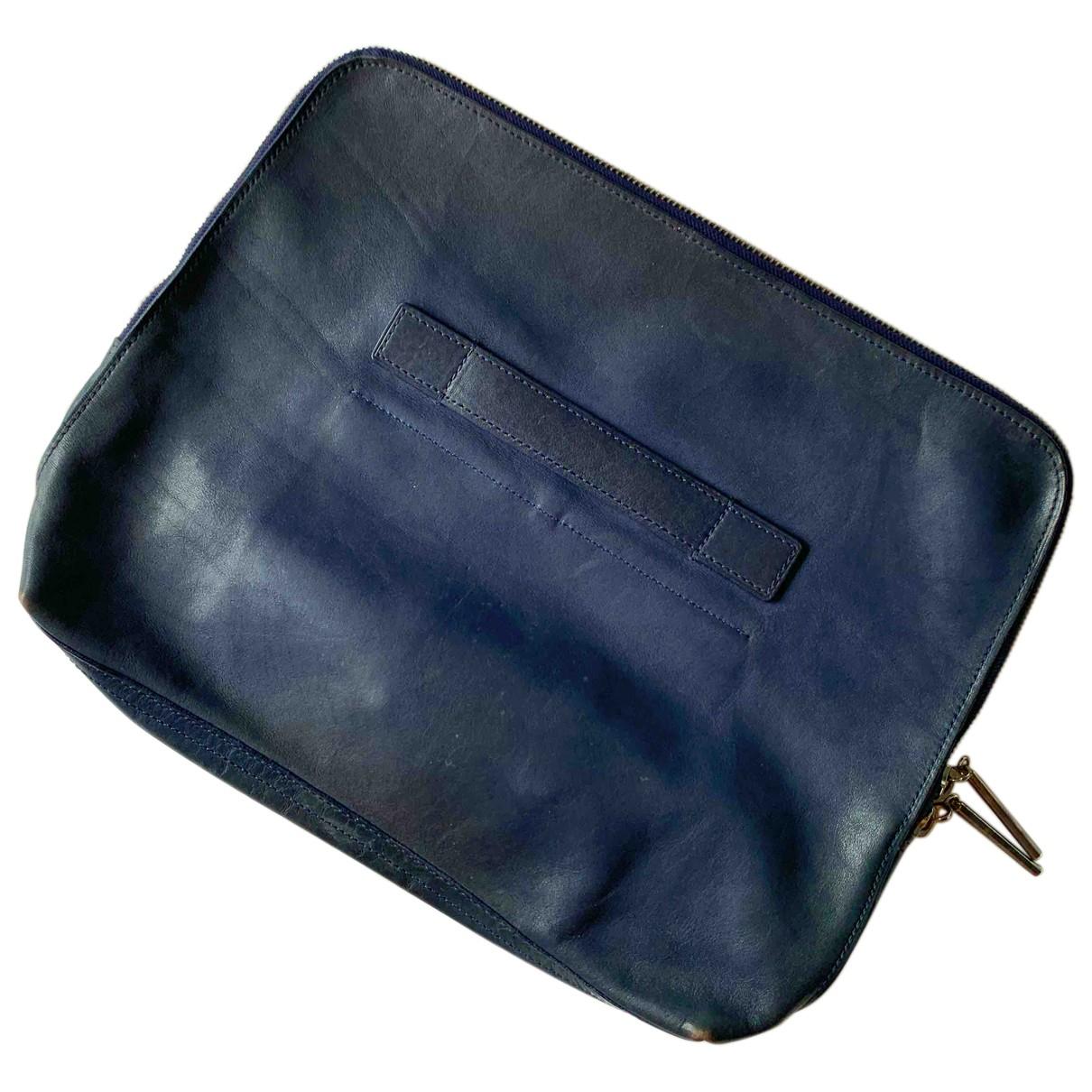 3.1 Phillip Lim N Navy Leather bag for Men N