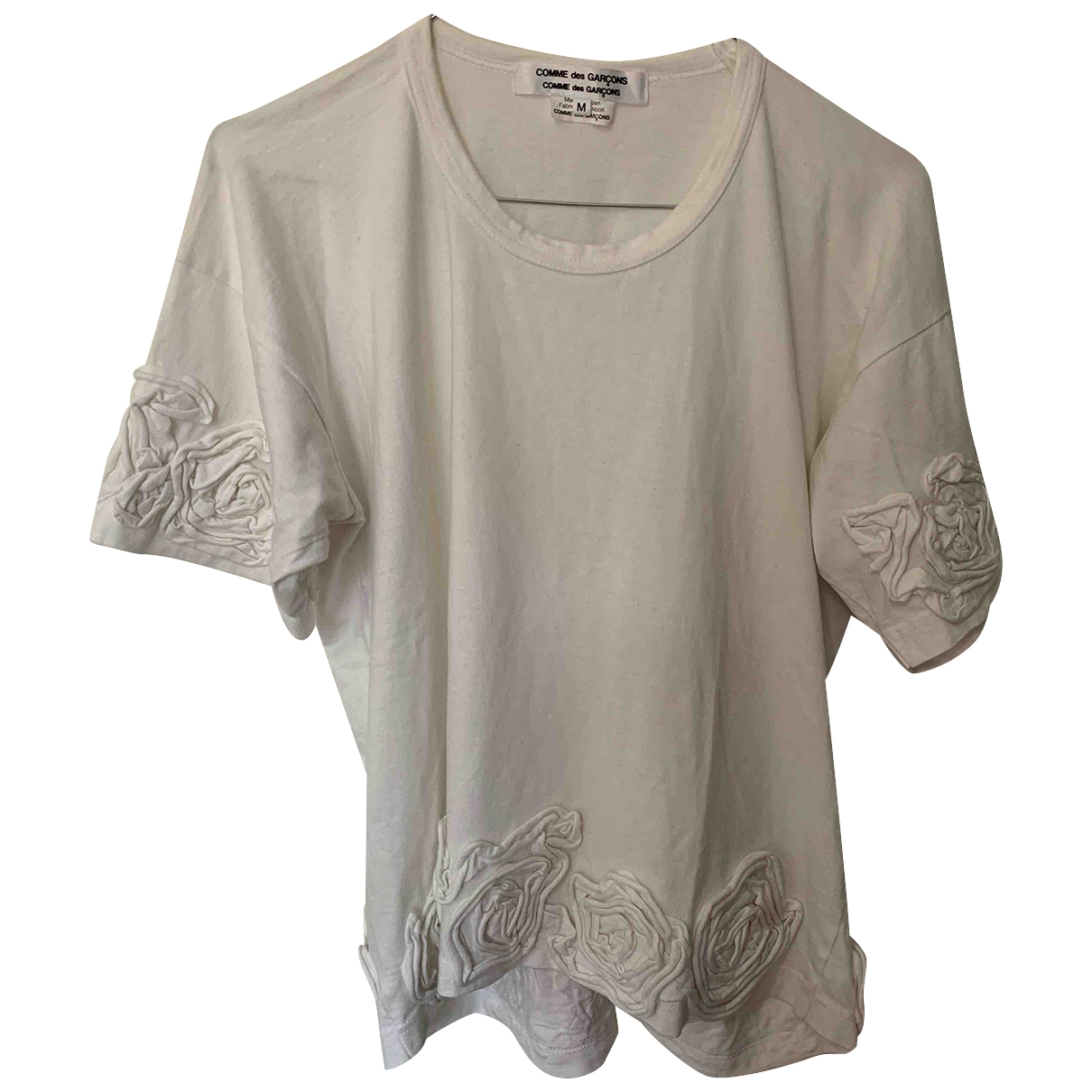 Comme Des Garcons \N White Cotton  top for Women M International