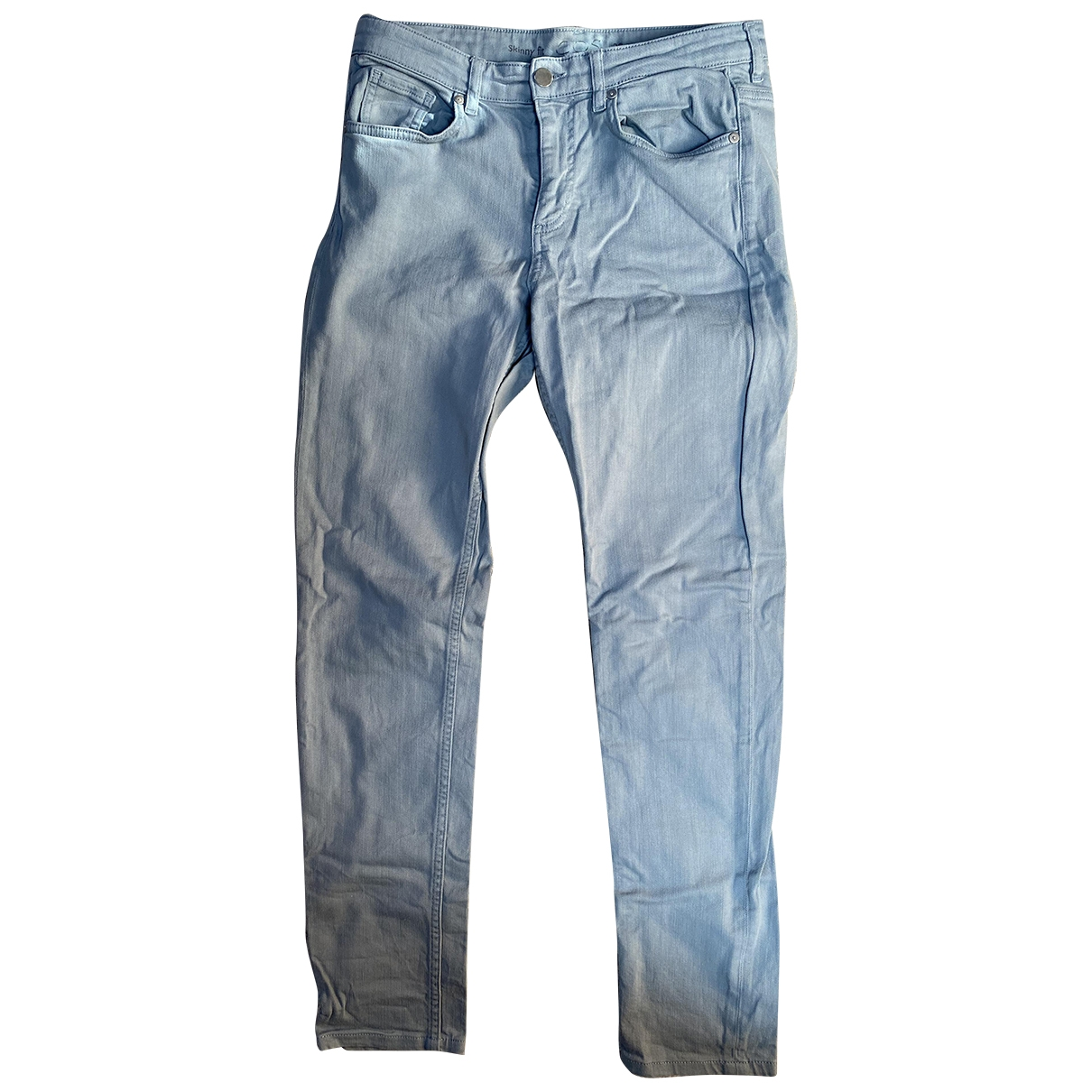 Cos \N Grey Cotton - elasthane Jeans for Women 29 US