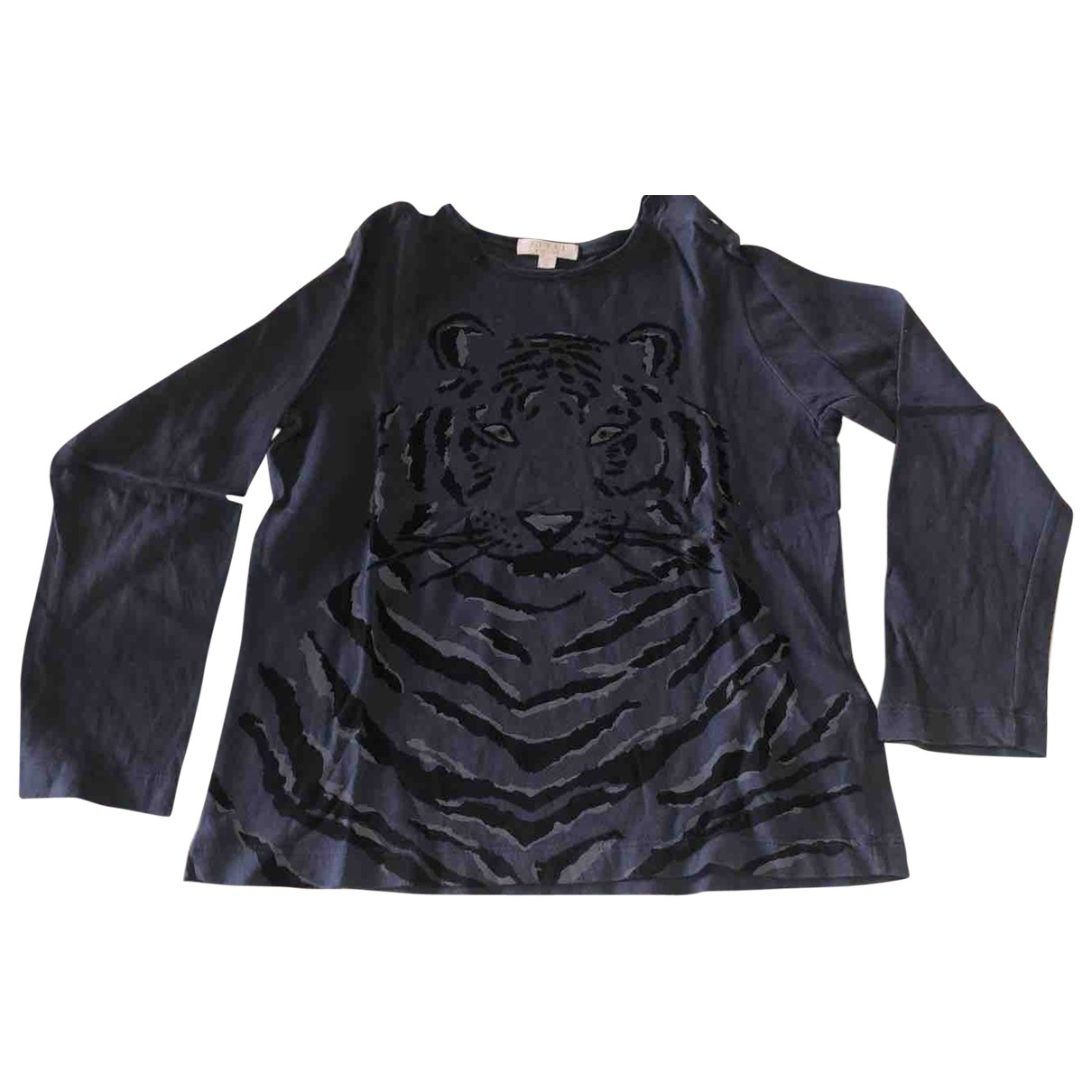 Gucci \N Oberteile in  Schwarz Baumwolle