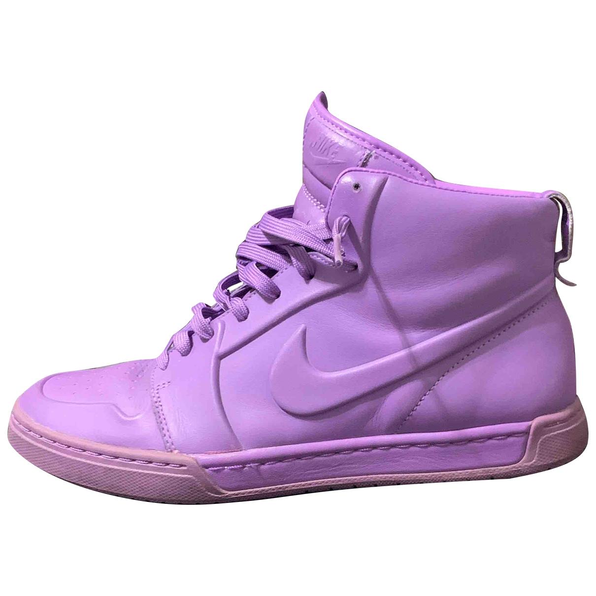 Nike - Baskets   pour homme en caoutchouc - violet