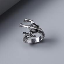 Maenner Ring mit Klaue Design