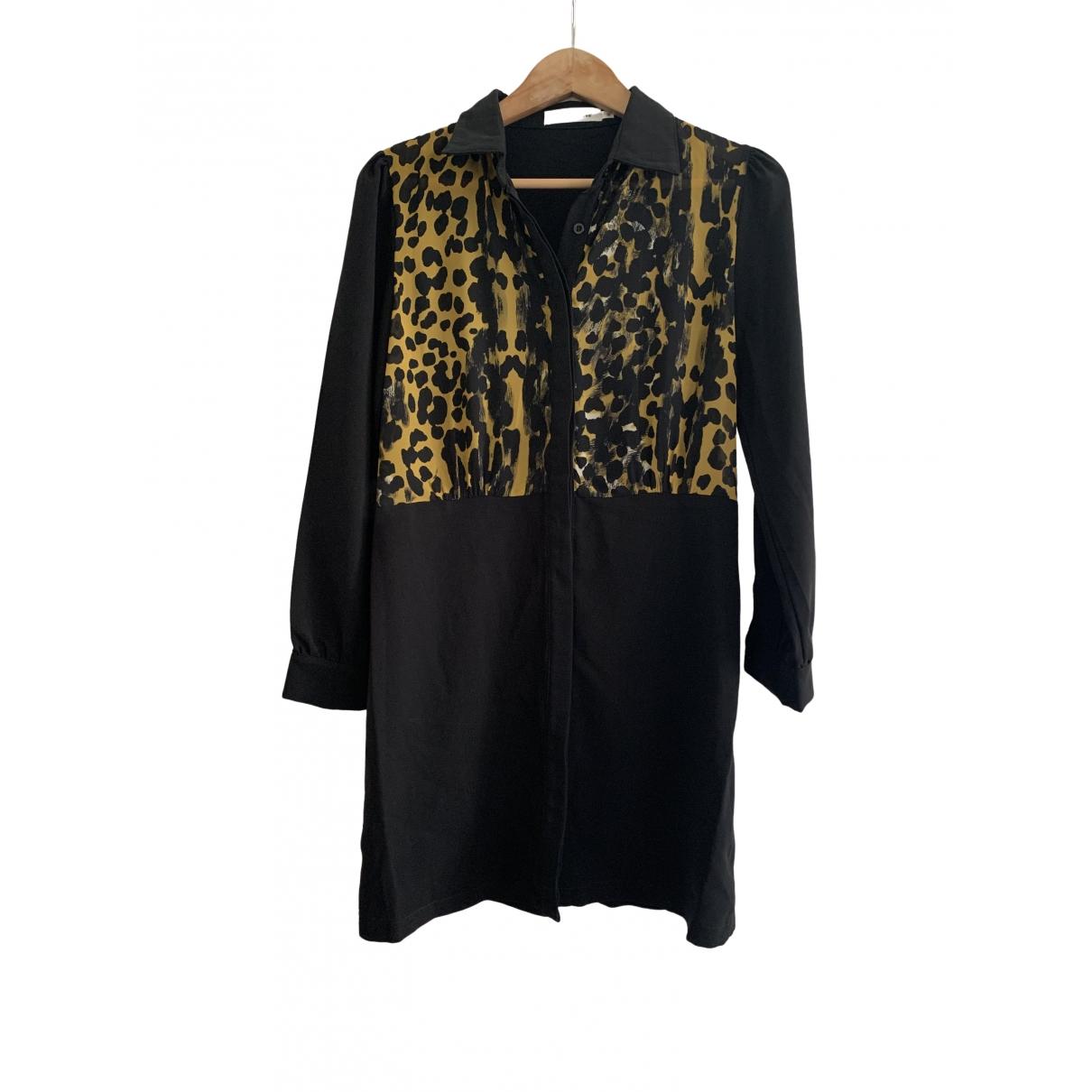 Nina Kauffmann \N Kleid in  Schwarz Polyester
