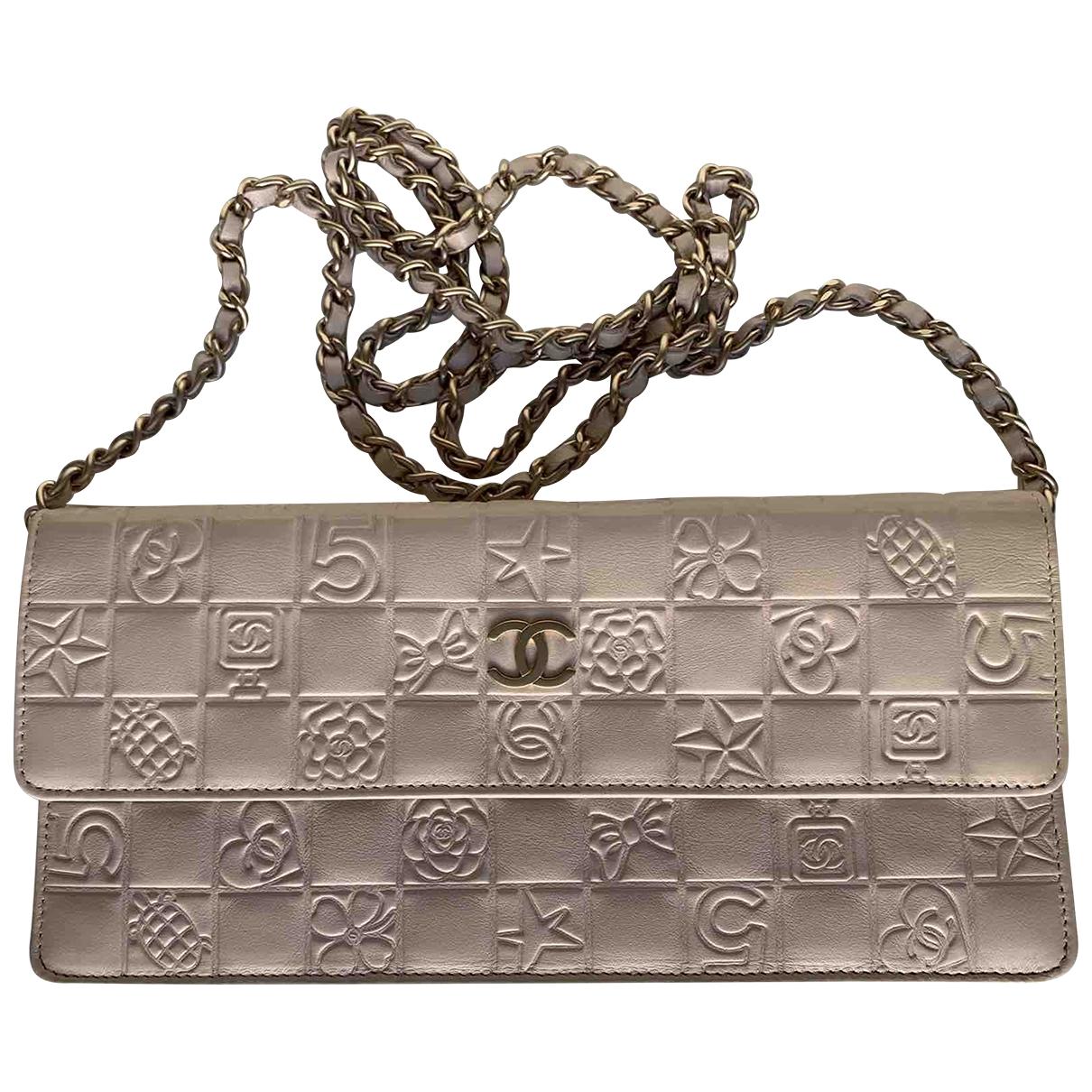 Chanel - Pochette Wallet on Chain pour femme en cuir