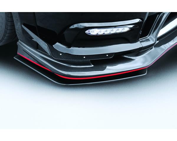 Varis VANI-120 Front Carbon Lip Under Flipper Option for Varis VANI-120 Bumper Nissan GTR R35 09-16