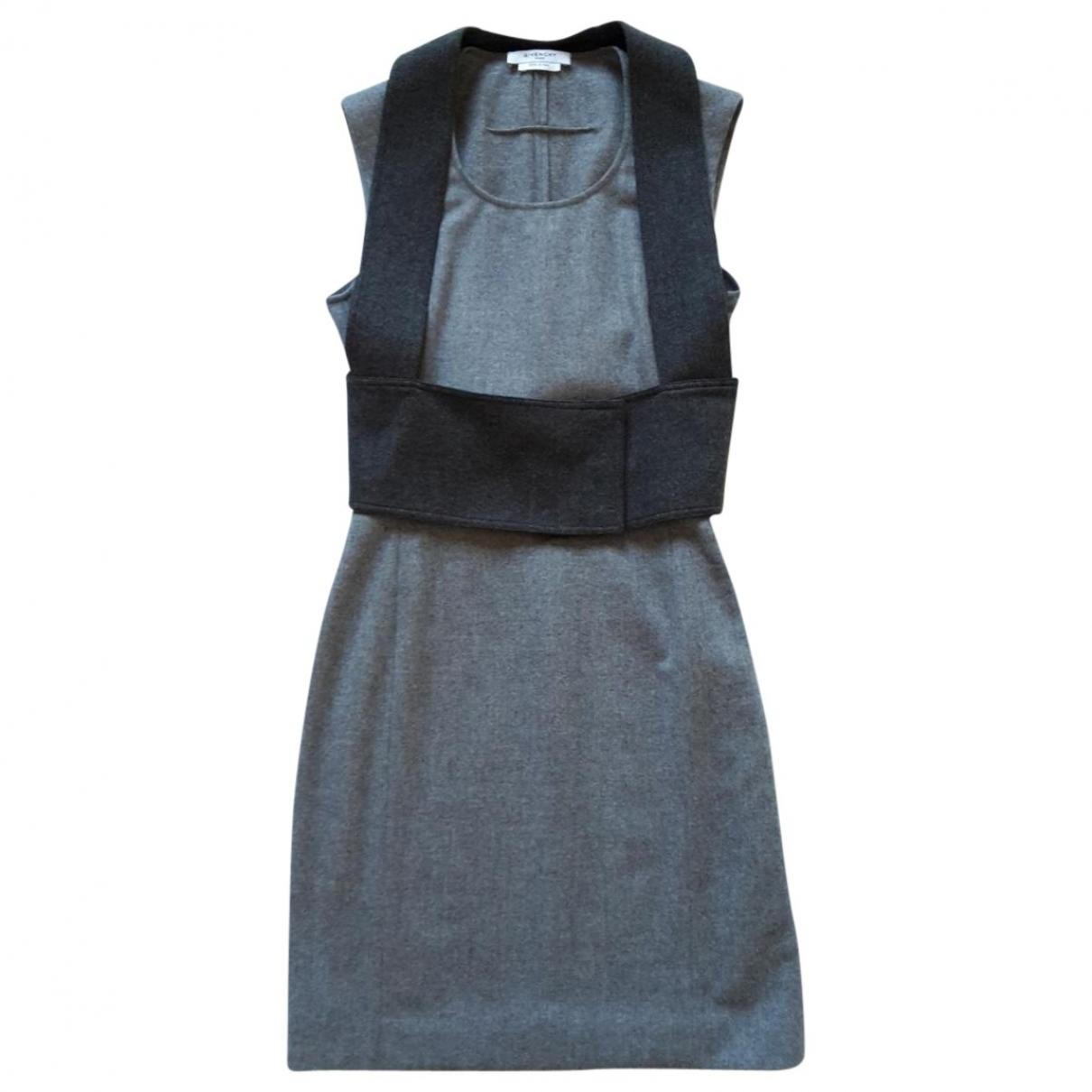 Givenchy \N Kleid in  Grau Wolle