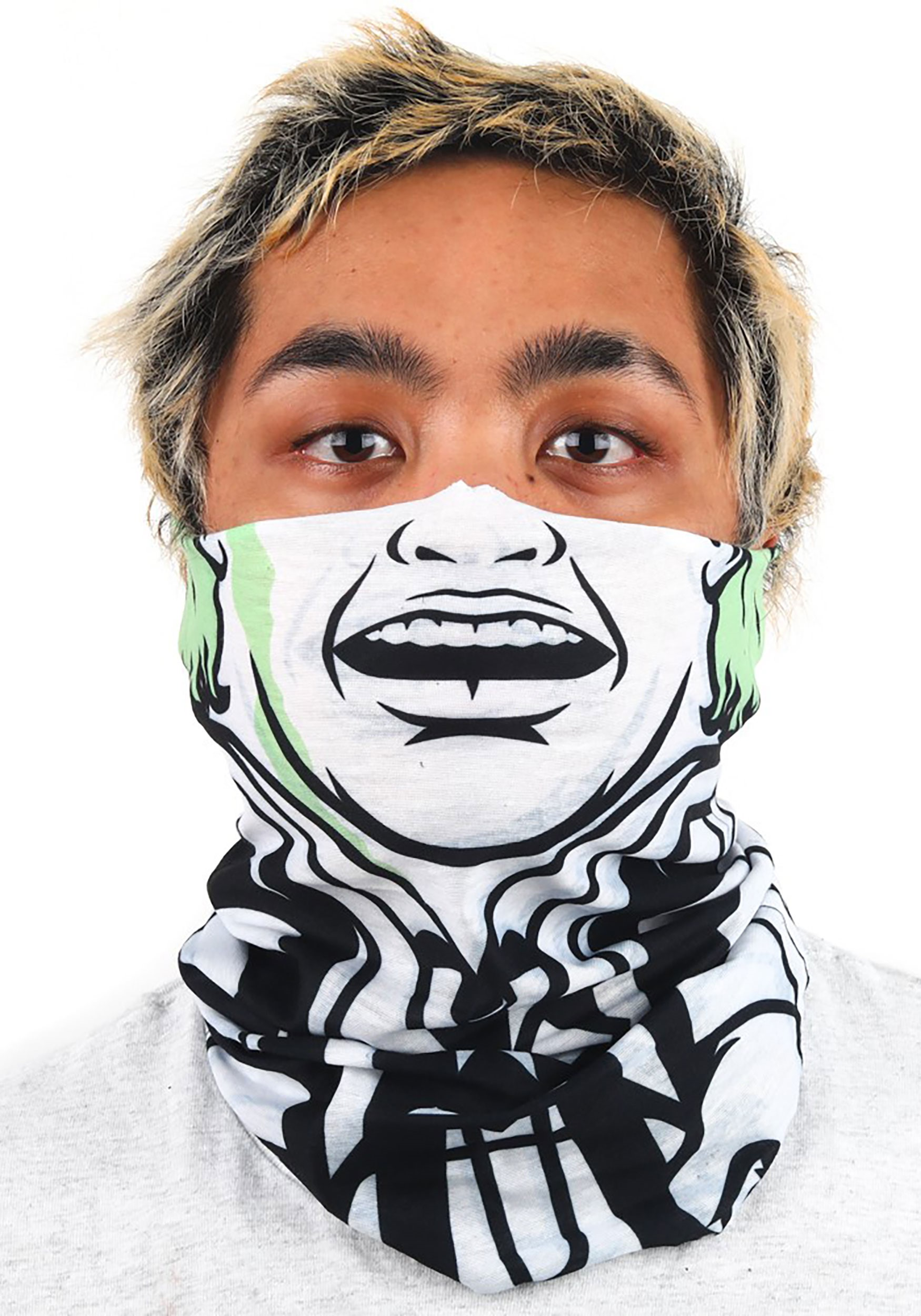 Beetlejuice Neck Gaiter for Adults