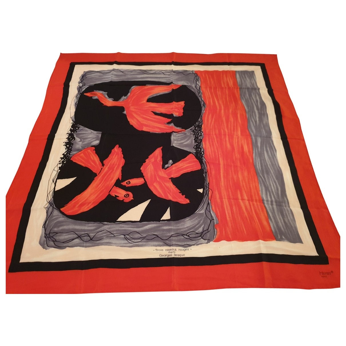 - Carre   pour femme en soie - multicolore