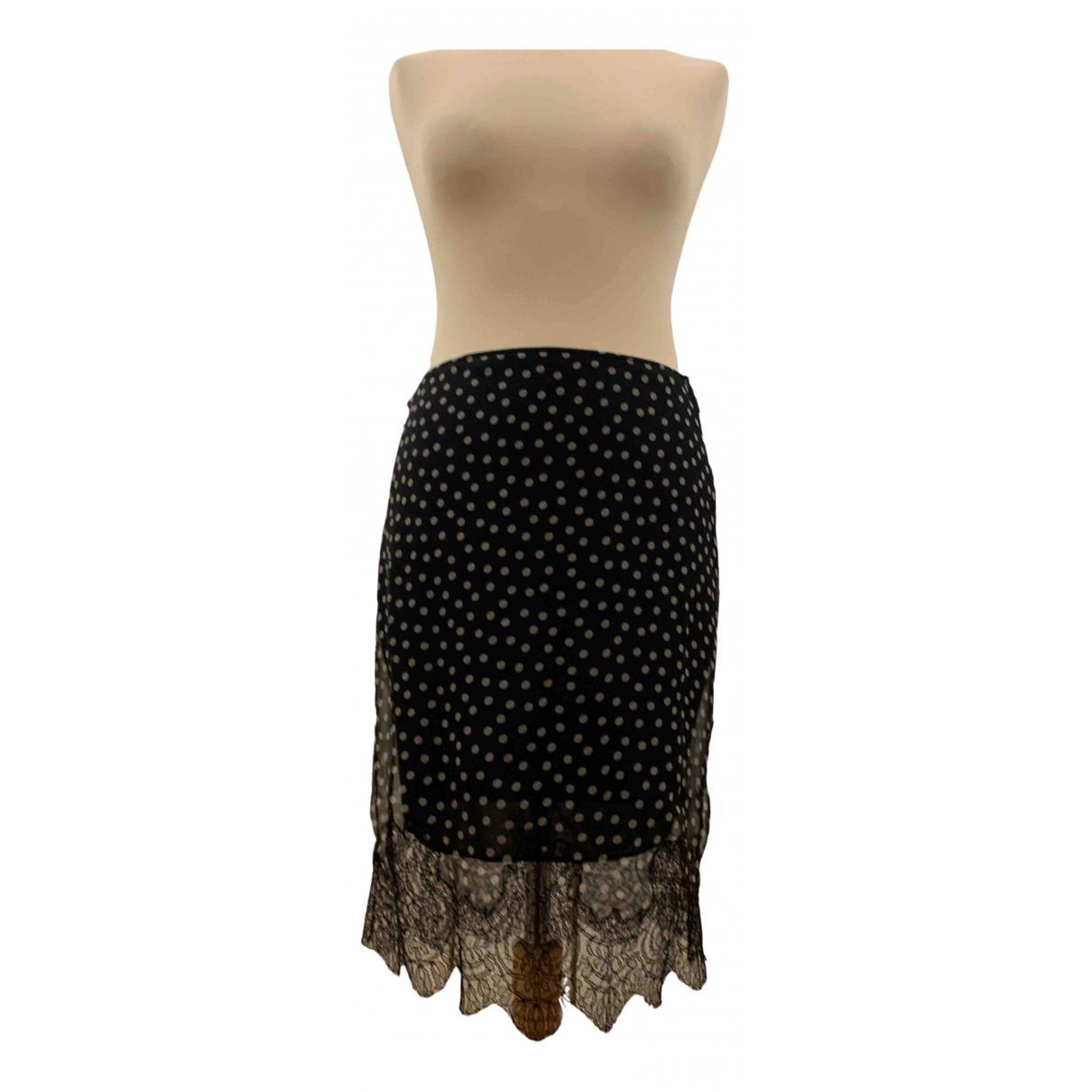 Nina Ricci - Jupe   pour femme en soie - noir
