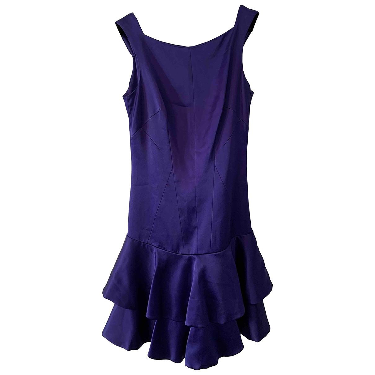 Karen Millen \N Kleid in  Lila Polyester