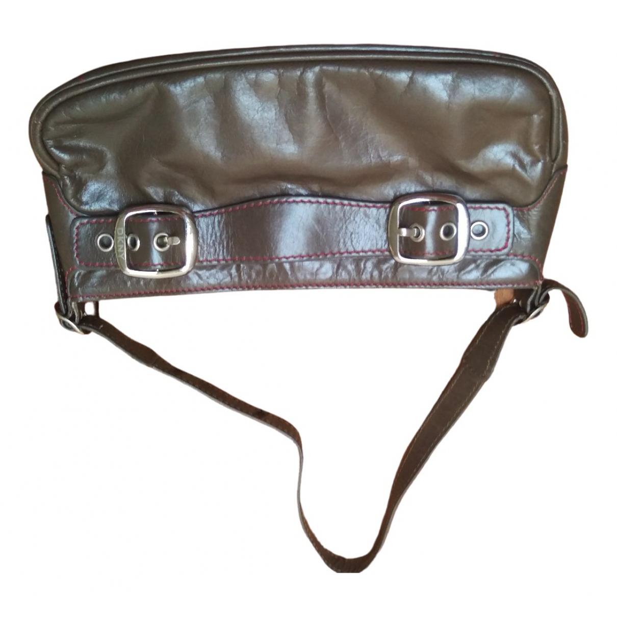 Dkny \N Brown Leather handbag for Women \N