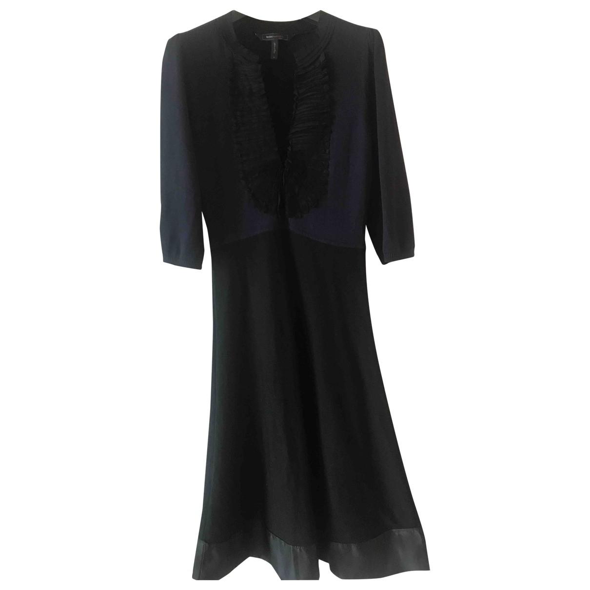 Bcbg Max Azria \N Kleid in  Blau Baumwolle