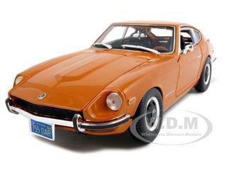 1971 Datsun 240Z Orange 1/18 Diecast Model Car by Maisto