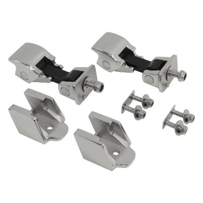 RT Off-Road Stainless Steel Hood Catch Kit (Stainless Steel) - RT26044
