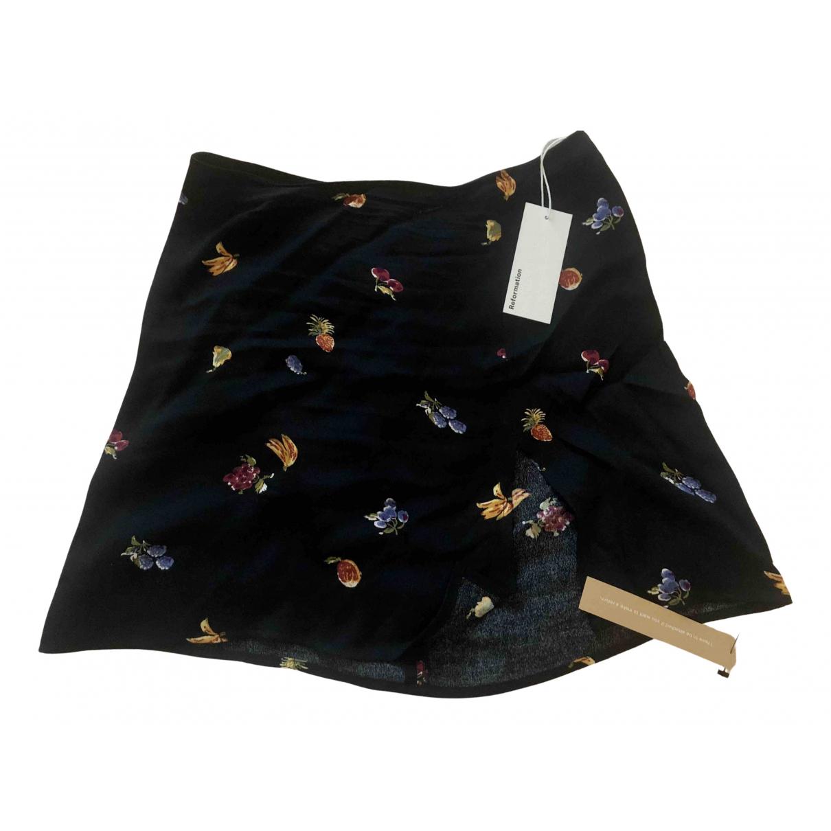 Reformation N Black skirt for Women 6 US