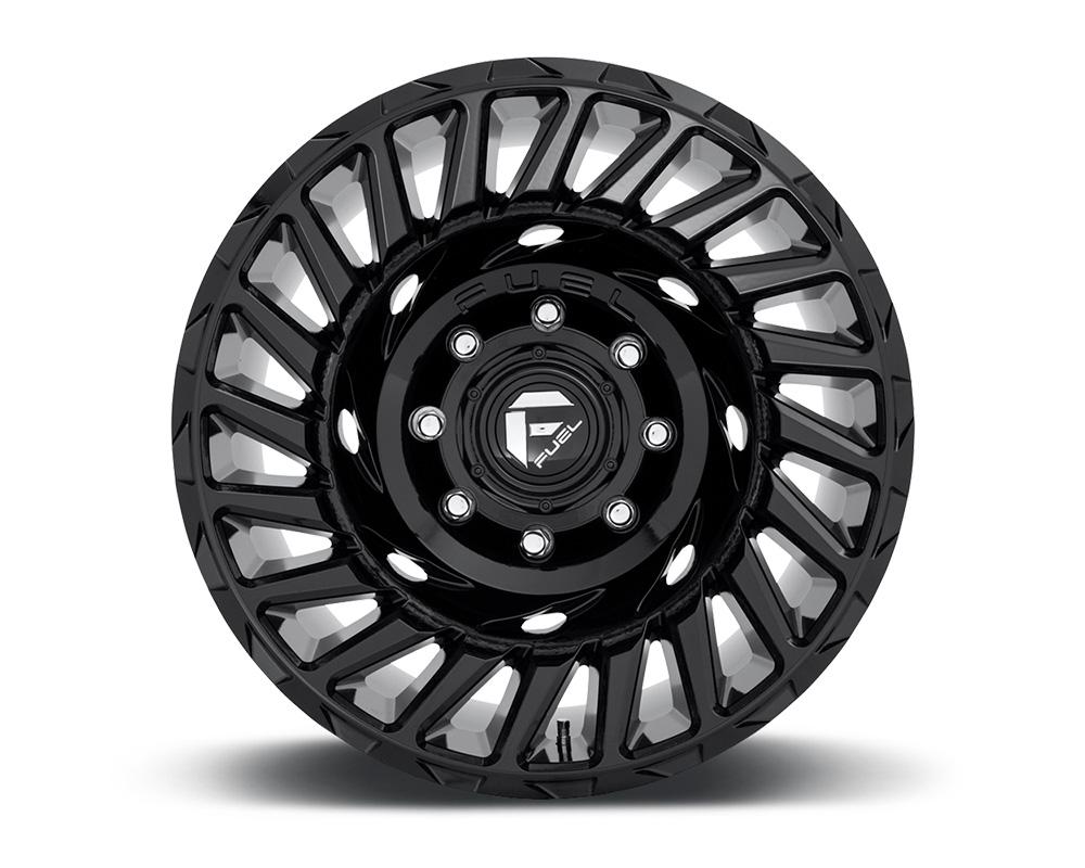 Fuel D682 Cyclone Gloss Black 1-Piece Cast Wheel 18x9 6x135 -12mm