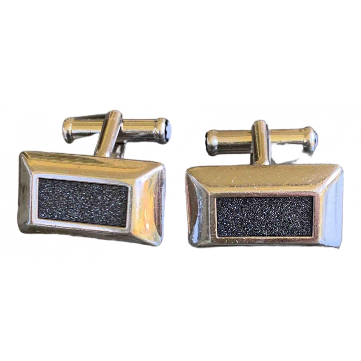Montblanc \N Silver Metal Cufflinks for Men \N