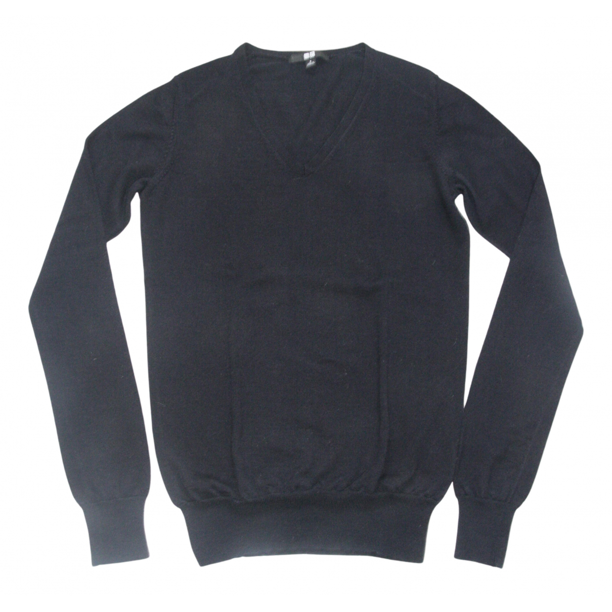 Uniqlo N Navy Wool Knitwear for Women S International