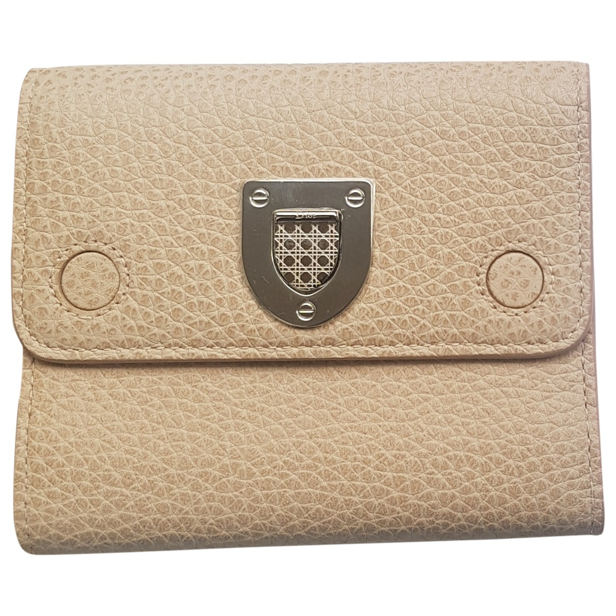 Dior Diorama Beige Leather wallet for Women \N