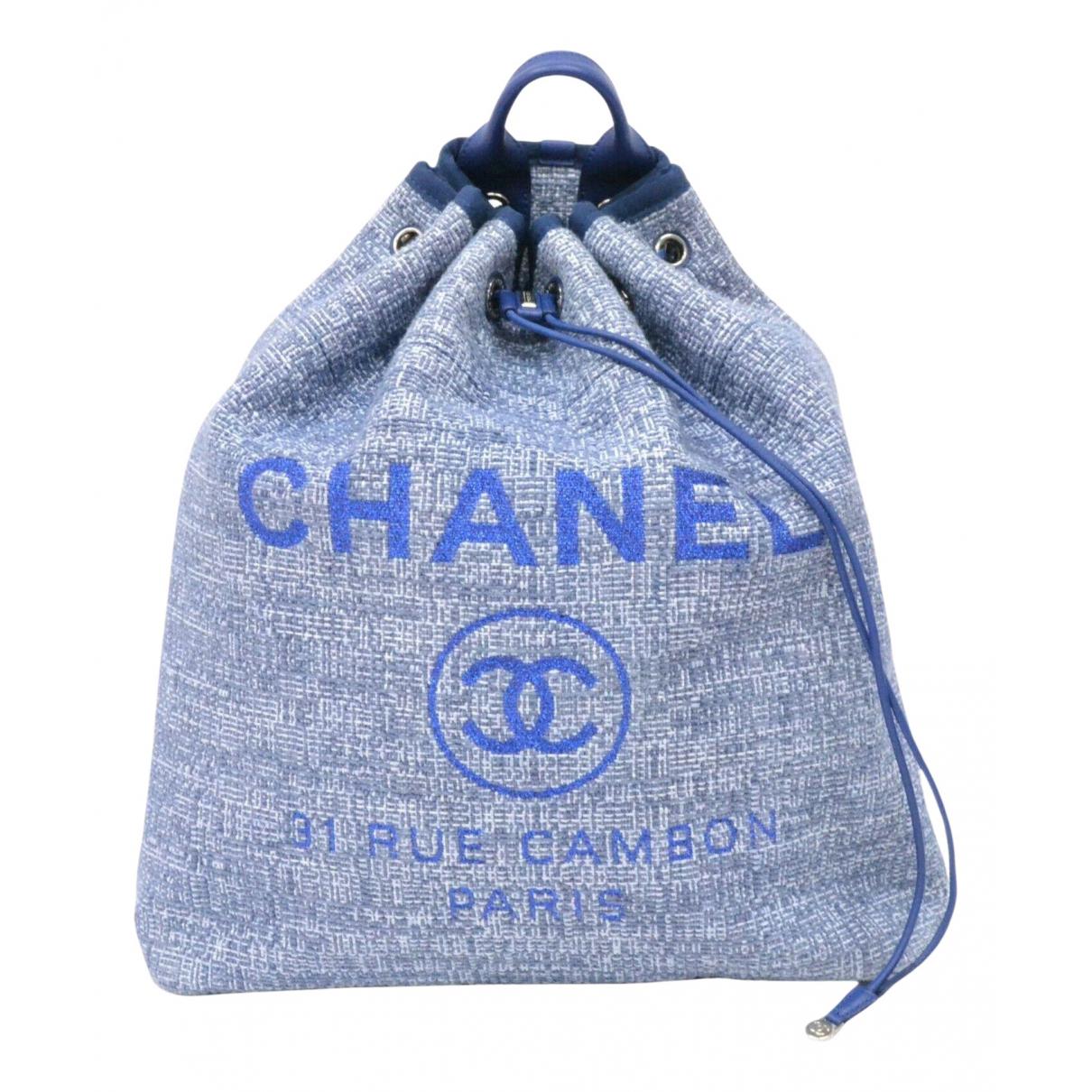 Mochila Deauville Tweed Chanel
