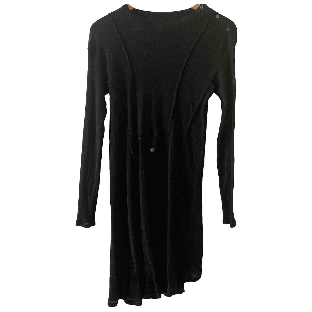 Zadig & Voltaire \N Kleid in  Schwarz Wolle